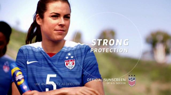 Coppertone Sport TV Spot, 'Soccer Game' Featuring Kelley O'Hara