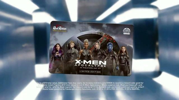 Red Robin TV Spot, 'X-Men: Apocalypse: Gift Card'