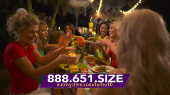 Nutrisystem Turbo 10 TV Spot, 'Ready to Make a Splash'
