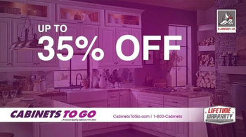 Cabinets To Go Memorial Day Sale TV Spot, 'Update Your Kitchen'