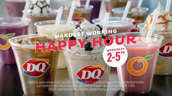 Dairy Queen Hardest Working Happy Hour TV Spot, 'Boss' - Thumbnail 8
