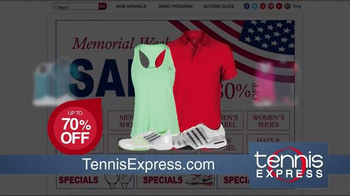 Memorial Day Sale: Shoes, Apparel and Rackets thumbnail