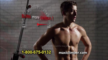MaxiClimber TV Spot, \'Max Out Your Health\'