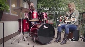 Guitar Center Memorial Day Savings Event TV Spot, 'Drums and Guitars'