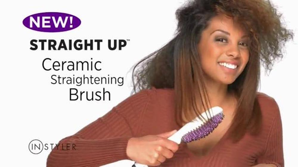 Hair curler cum straightener tv ad