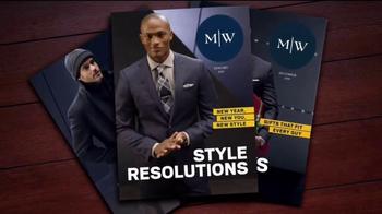 Men's Wearhouse TV Spot, 'Style Resolutions'