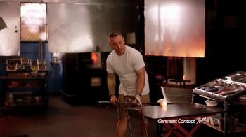 Constant Contact TV Spot, 'Luke Adams Glass Blowing Studio'