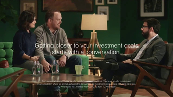 TD Ameritrade TV Spot, 'Green Room: We Listen'