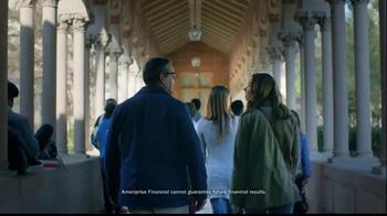 Ameriprise Financial TV Spot, 'Alumni Day' - Thumbnail 6
