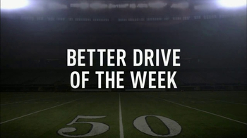 Hyundai TV Spot, 'Better Drive of the Week: Packers vs. Cowboys' - 1 commercial airings