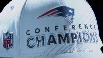 NFL Shop TV Spot, 'AFC Championship Collection: New England Patriots'