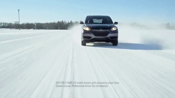 2017 Honda HR-V AWD LX TV Spot, 'Show Winter Who's in Charge'