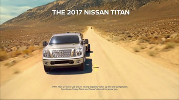 2017 Nissan Titan TV Spot, 'Go the Extra Mile'