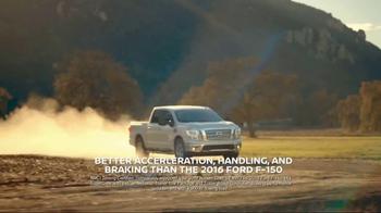 2017 Nissan Titan TV Spot, 'Go the Extra Mile'
