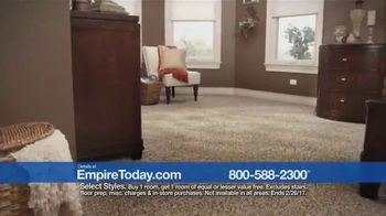 Empire Today Buy One Get One Free Sale TV Spot, 'Carpet, Hardwood, Tile'