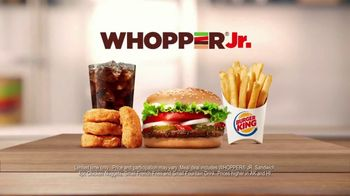 Burger King Whopper Jr. Meal Deal TV Spot, 'Going Crazy'