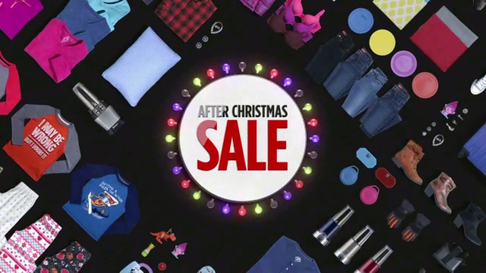 JCPenney After Christmas Sale TV Commercial, 'Nike Apparel' - iSpot.tv