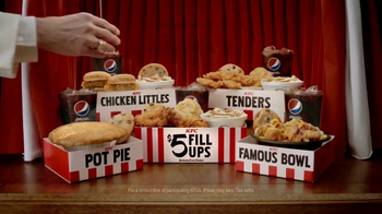 KFC $5 Fill Ups TV Spot, 'Chicken Little Variety'