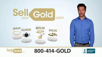 SellYourGold TV Spot, 'Cash for Your Unwanted Jewelry'