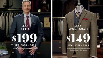 A Bank After Christmas Sale Tv Spot Suits Sport Coats