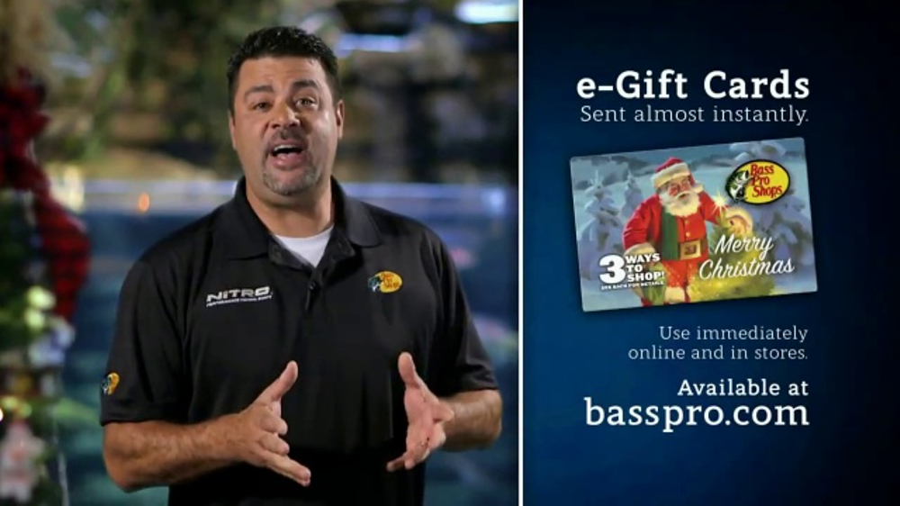 Bass Pro Shops Christmas Sale TV Commercial, 'Tackle Backpack ...