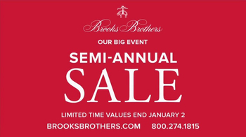 Brooks Brothers Semi-Annual Sale TV Spot, 'Iconic'