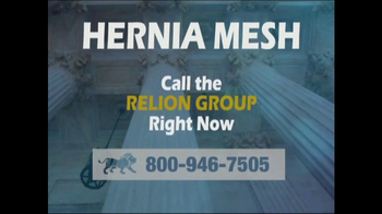 Relion Group TV Spot, 'Hernia Surgical Mesh'