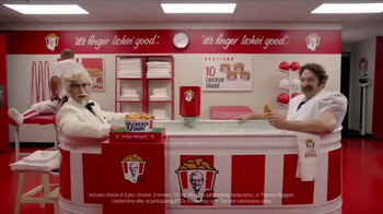 KFC $10 Chicken Share TV Spot, 'Ice Bath' Featuring Rob Riggle