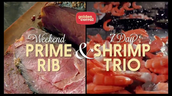 Golden Corral Prime Rib & Shrimp Trio TV Spot, \'Kick Off the New Year\'