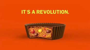 Reese's Pieces Cup TV Spot, 'Cupfusion: It's a Revolution'