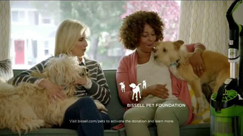 Bissell Pet Hair Eraser Vacuum TV Spot, 'Home With the Pets'