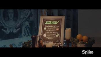Subway TV Spot, 'Spike: Fresh Mixers'