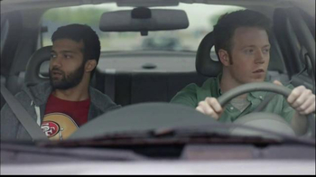 NFL Fantasy Football TV Spot, \'Friends Don\'t Small Talk: Car\'