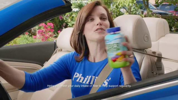 Phillips Fiber Good Gummies TV Spot, 'Security Gate'