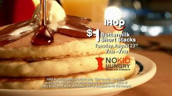 IHOP Short Stacks TV Spot, 'No Kid Hungry Fundraiser'