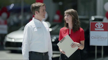 Toyota Annual Clearance Event TV Spot, 'Going, Going, Gone' - 31 commercial airings