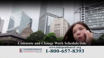 Independence University TV Spot, 'The Most Powerful Weapon'