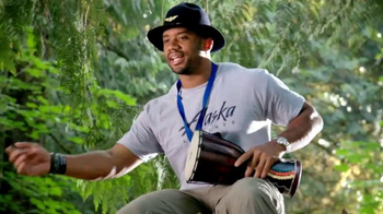 Alaska Airlines TV Spot, 'Drum Circle' Featuring Russell Wilson