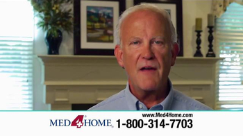 Med4Home TV Spot, 'Portable Nebulizer'