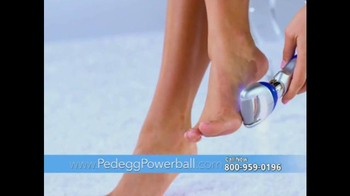 PedEgg Powerball TV Spot, 'Beautiful Feet'