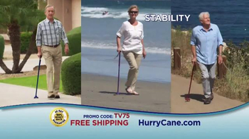 The HurryCane TV Spot, 'The Gift of Mobility'
