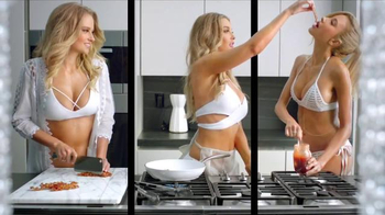 Carl's Jr. Bacon 3-Way Burger TV Spot, 'Fantasy' Featuring Genevieve Morton