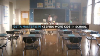 National University TV Spot, 'Get a Degree in Keeping More Kids in School' - 1 commercial airings