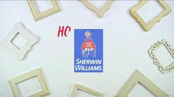 Sherwin-Williams TV Spot, 'TLC Channel: DIY Frame'