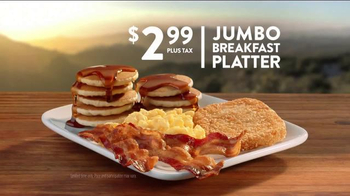 Jack in the Box Jumbo Breakfast Platter TV Spot, 'Louisiana'