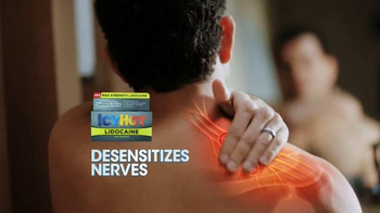 Icy Hot Lidocaine TV Spot, 'Aggravated Nerves' Featuring Shaquille O'Neal