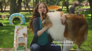Purina Beneful Healthy Weight TV Spot, 'Jessica and Riley' - Thumbnail 1