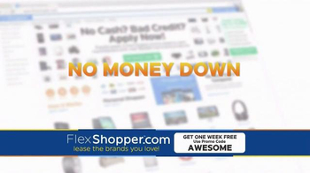 FlexShopper TV Spot, 'Electronics, Furniture and Appliances'
