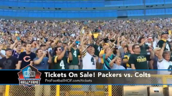 Pro Football Hall of Fame TV Spot, 'Packers vs. Colts' - 5 commercial airings