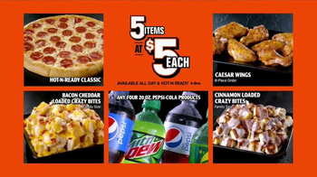 Little Caesars Pizza 5 for $5 TV Spot, 'Your Pick'